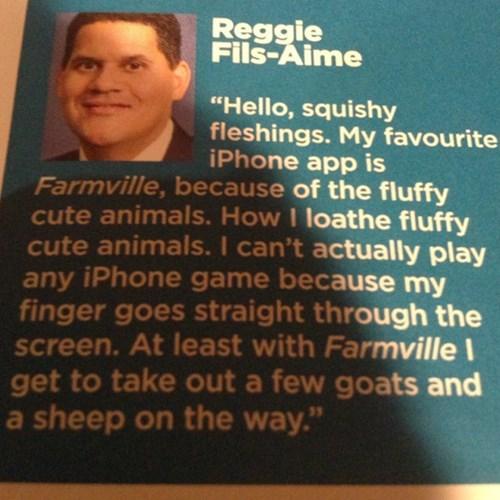 Farmville,reggie fils-aime