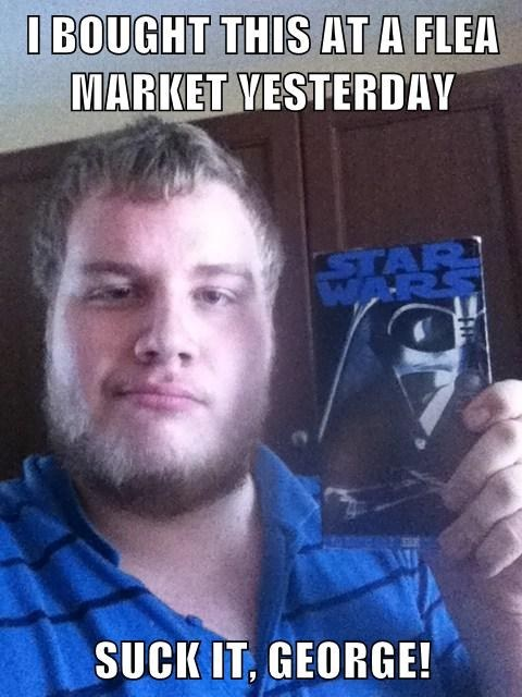 han shot first,star wars,VHS