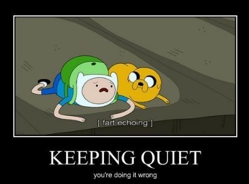 adventure time,farts,funny,sneaky,quiet