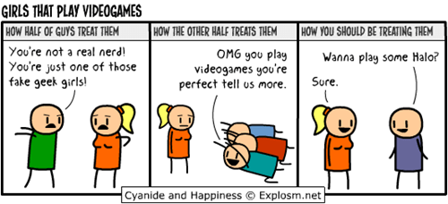 cyanide and happiness,video games,web comics