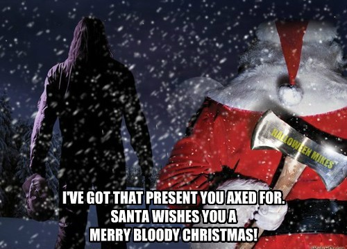 Merry Bloody Christmas!