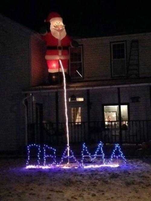 Santa Hates Obama