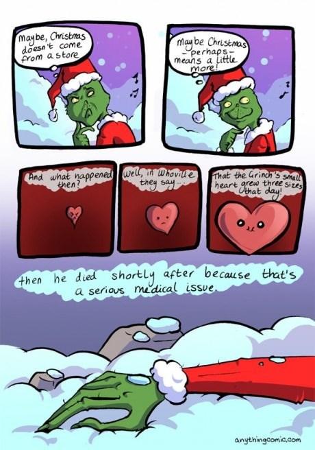 christmas,the Grinch,web comics