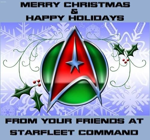 Seasonal Greetings From The Final Frontier