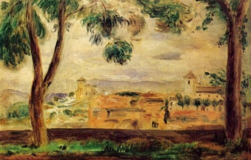 Cagnes par Renoir