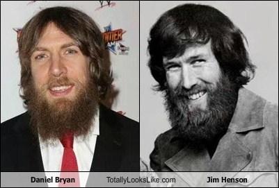 daniel bryan,jim henson,totally looks like