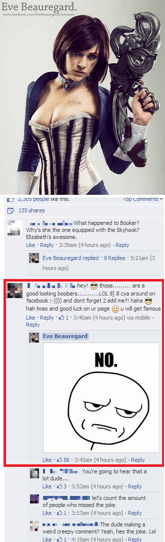 This Cosplayer Shuts Down an Idiot Commenter