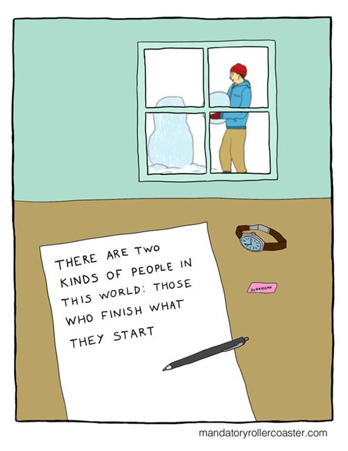 procrastination,snow,web comics