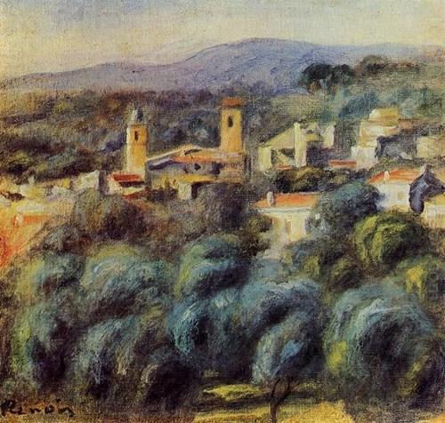 Cros De Cagnes 1905 par Pierre Auguste Renoir
