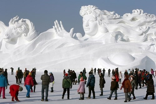 China's Ice Sculpture Park
