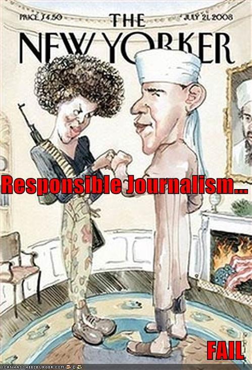 Responsible Journalism... FAIL