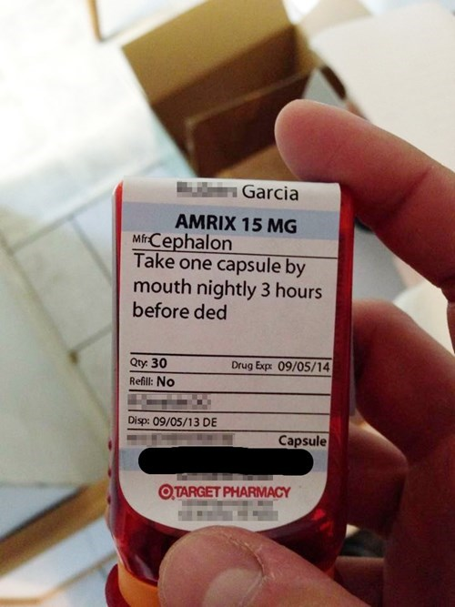 An Unfortunate Typo for a Prescription