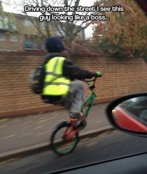 No Front Wheel Required