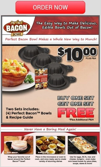 Make Bacon Into a Bowl Because 'Murica!