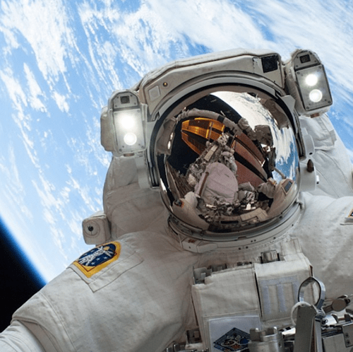 The Best Selfies Are Astronaut Selfies