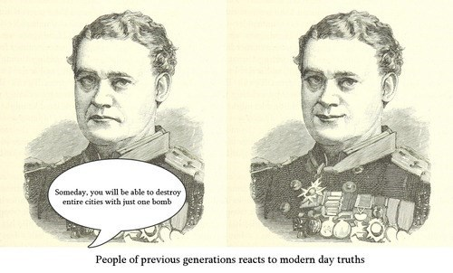 How People in The Past Respond to Modern Day Truths