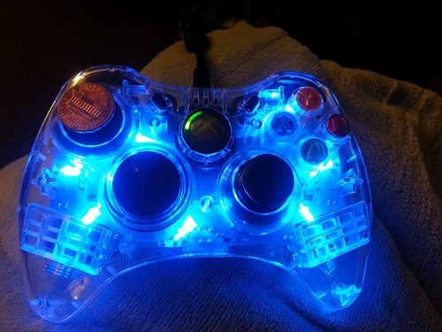 controllers,video games,pennies,there I fixed it