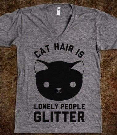 The Unofficial Uniform of the Crazy Cat Lady