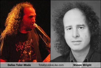 Dallas Toler-Wade Totally Looks Like Steven Wright