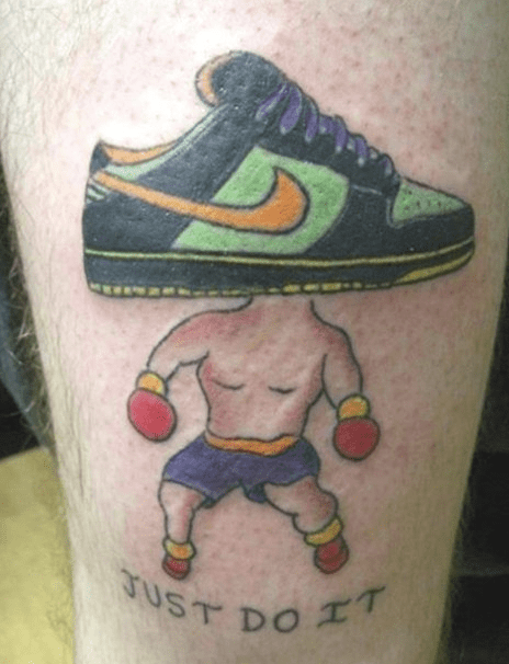 boxing,shoes,tattoos