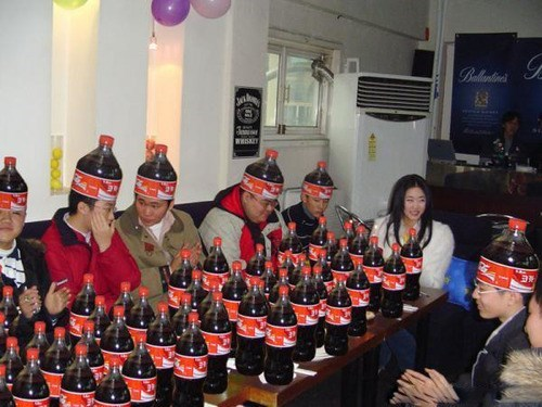 Not Exactly What I Thought When They Said Coke Party