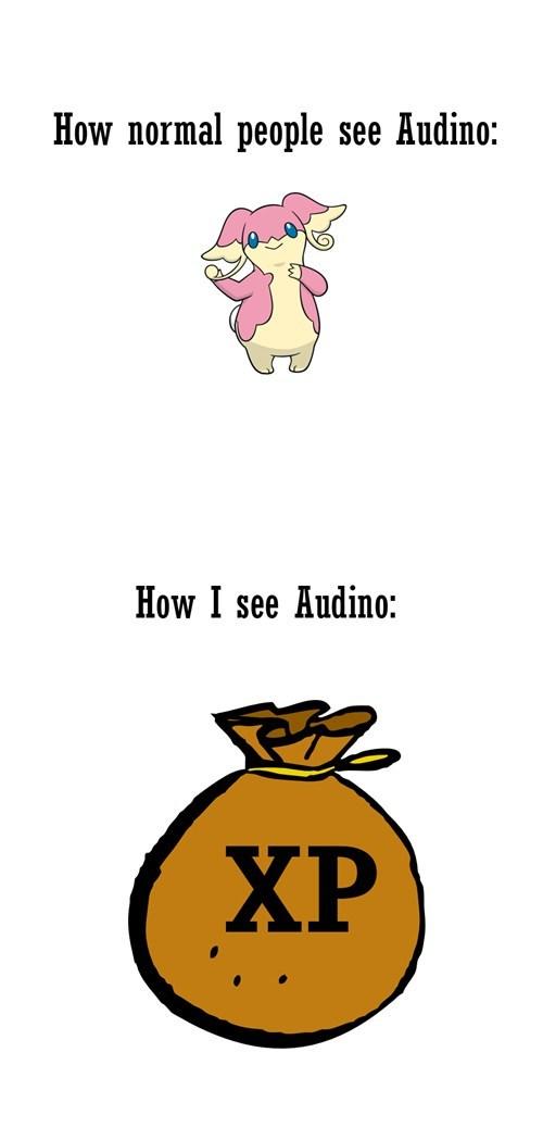 audino,Pokémon,xp