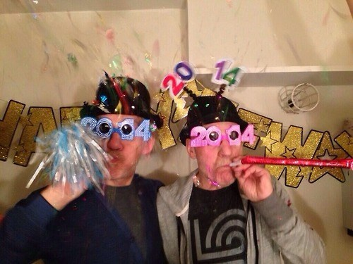 Patrick Stewart and Ian McKellen Ring In The New Years