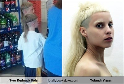 Two Redneck Kids Totally Looks Like Yolandi Visser
