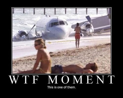 crash,beach,funny,plane,wtf