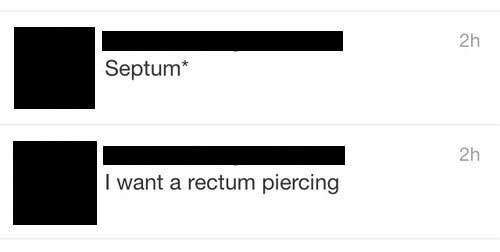 twitter,typo,piercing