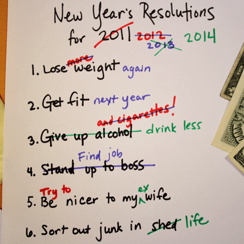 These New Year's Resolutions Are More Truthful Than You'd Like to Admit