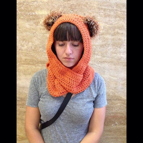 Instant Ewok: Just Add Headscarf
