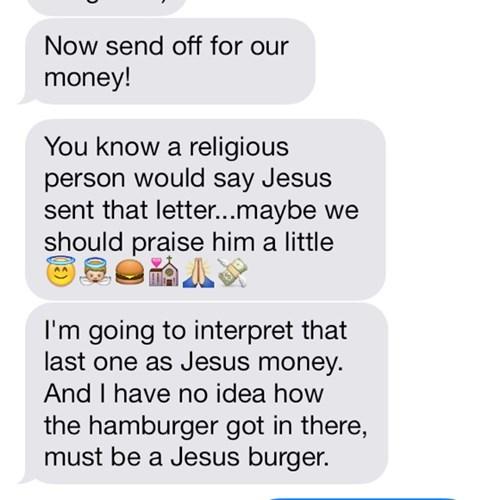 I Can Haz Jesus Burger?