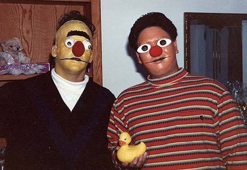 Bert And Ernie Grew Up
