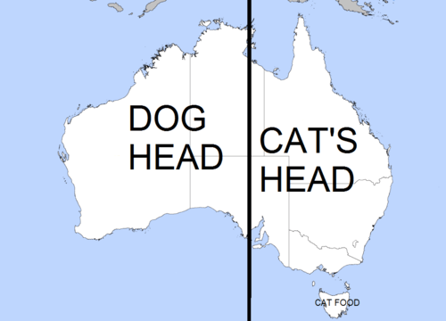 Australia is Home to CatDog