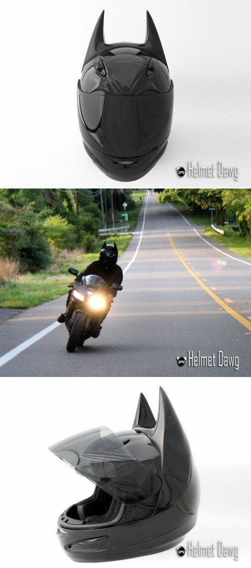 The Perfect Accessory For Your Batcycle