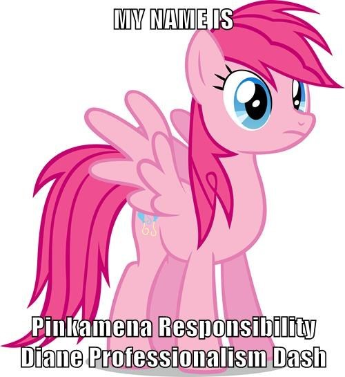 full name,pinkie pie,rainbow dash