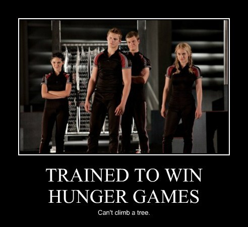 TRAINED TO WIN HUNGER GAMES