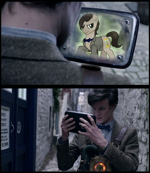 doctor who,MLP,doctor whooves,mashup