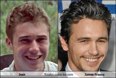 Josh Totally Looks Like James Franco