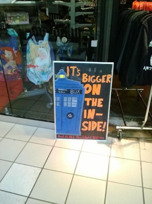 T.A.R.D.I.S. shop now open!