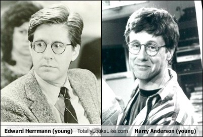 Edward Herrmann Totally Looks Like Harry Anderson