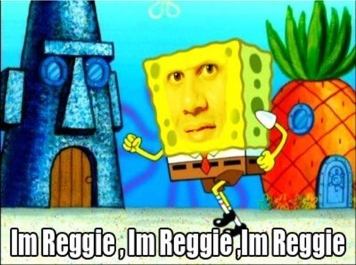 You Shure Are Reggie, You Shure Are...