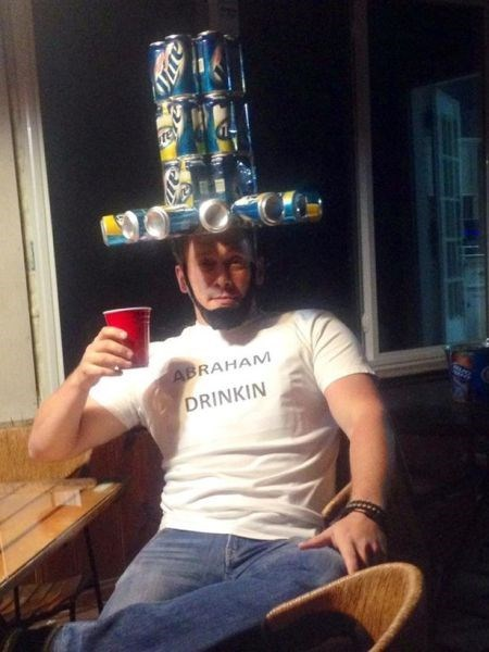 beer,abraham lincoln,hat,funny,president,after 12