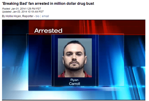 "This ""Breaking Bad"" Fan Takes it One Step too Far"
