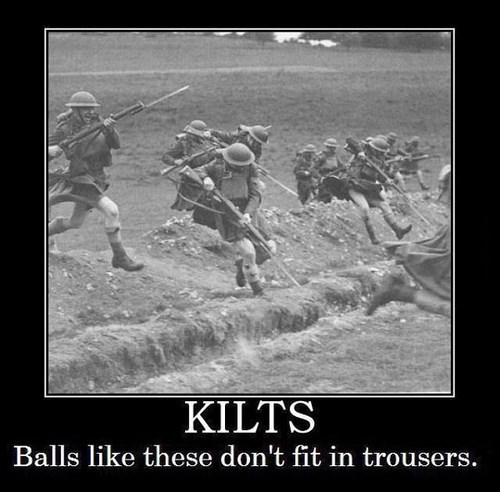 That Explains the Kilts