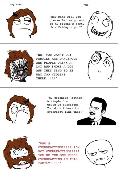 Overreacting