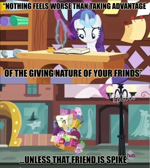 Is Spike Really A Friend?