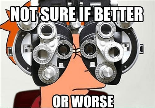 Every Time at the Optometrist