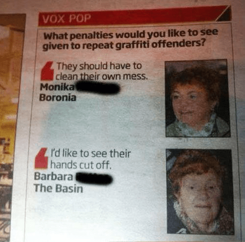 Barbara Doesn't Mess Around, When it Comes to Crime